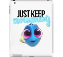 Just Keep Swimming iPad Case/Skin