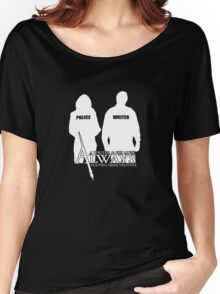 Castle ABC Always Writer & His Muse Women's Relaxed Fit T-Shirt