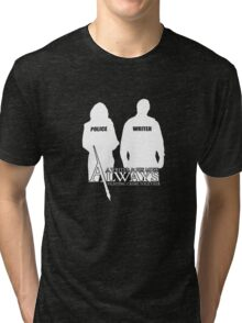 Castle ABC Always Writer & His Muse Tri-blend T-Shirt