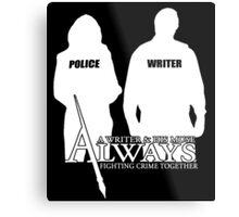 Castle ABC Always Writer & His Muse Metal Print