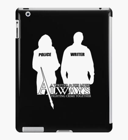 Castle ABC Always Writer & His Muse iPad Case/Skin