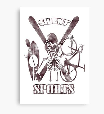 Silent Sports Canvas Print