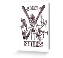 Silent Sports Greeting Card