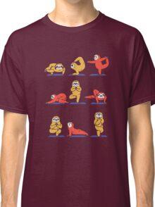 Yoga Shirt - Sloth Yoga Shirt - Funny Sloth Shirts Classic T-Shirt