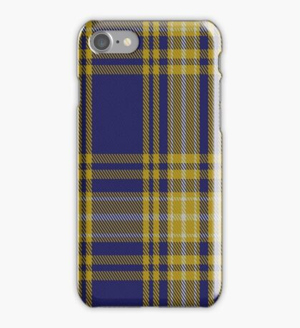 01343 University of North Carolina Greensboro Tartan iPhone Case/Skin