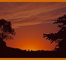 End of another day by Glenn Bumford