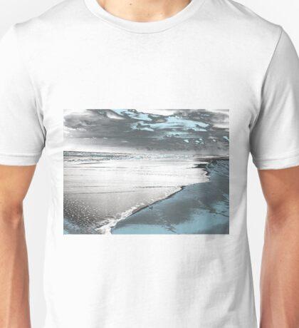 Silver Seascape I Unisex T-Shirt