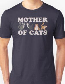 Cute Mother of Cats T Shirt Unisex T-Shirt