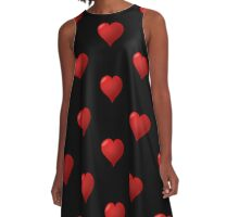 Love Heart  A-Line Dress
