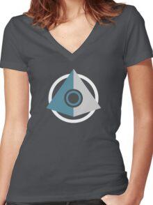 ONI Symbol Women's Fitted V-Neck T-Shirt