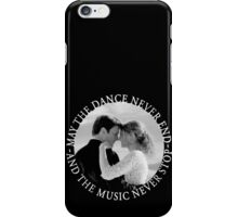Caskett - May The Music Never Stop iPhone Case/Skin