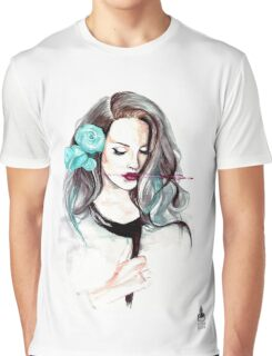 Blue Velvet - Lana del Rey Graphic T-Shirt