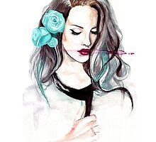 Blue Velvet - Lana del Rey by ancapora