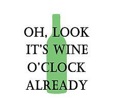 oh, look it's wine o'clock already by Glamfoxx