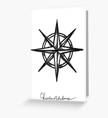 CRA Compass Greeting Card