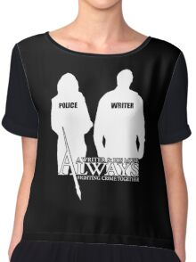 Castle ABC Always Writer & His Muse Chiffon Top