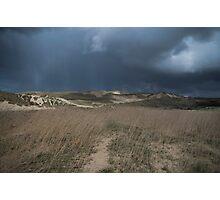 Stormy Sand Dunes Photographic Print
