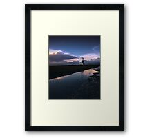 Low and behold Lighthouse Framed Print