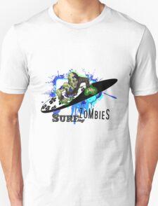 "Surfing Zombies - ""Half Dude - Half Pipe"" Unisex T-Shirt"