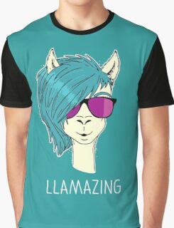 LLAMAZING Graphic T-Shirt