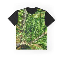 Raw Green  Graphic T-Shirt