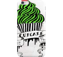 Poison Sweet Cupcakes iPhone Case/Skin