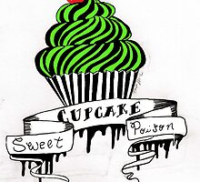 Poison Sweet Cupcakes by MacabreCupcakes