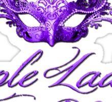Purple Ladies Club Passion For Purple 2 Sticker