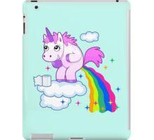 Unicorn Pup Rainbow In The Cloud Fun Pegasus iPad Case/Skin