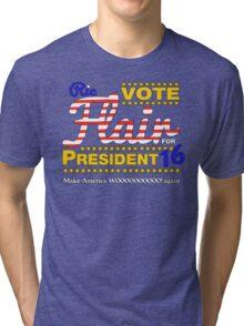 Make America WOOOOO! Again Tri-blend T-Shirt