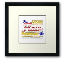 Make America WOOOOO! Again Framed Print