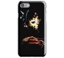Holding the Spark iPhone Case/Skin