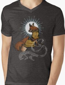 Fox Bride Mens V-Neck T-Shirt