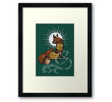 Fox Bride Framed Print