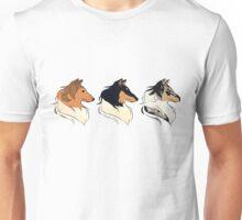 Rough Collies - All Colors Unisex T-Shirt