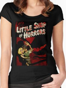 Little Shop of Horrors - pulp style Women's Fitted Scoop T-Shirt