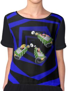 Day of the Tentacle - Time Machine  Chiffon Top