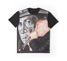 Buck's Blue Eyed Glare Graphic T-Shirt