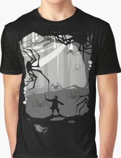 The Little Limbbit and the Spiders Graphic T-Shirt