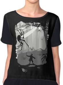 The Little Limbbit and the Spiders Chiffon Top