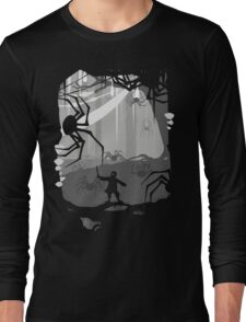 The Little Limbbit and the Spiders Long Sleeve T-Shirt