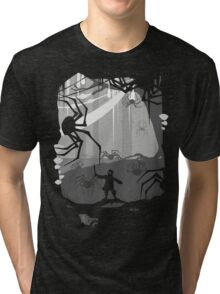 The Little Limbbit and the Spiders Tri-blend T-Shirt