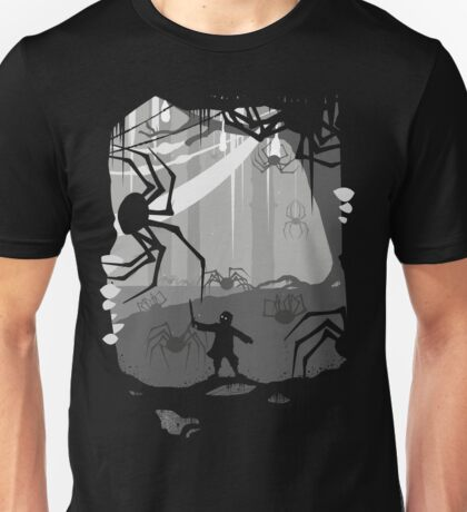 The Little Limbbit and the Spiders Unisex T-Shirt