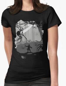 The Little Limbbit and the Spiders Womens Fitted T-Shirt
