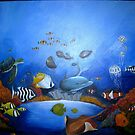 Ocean Original Painting by Noelia Garcia
