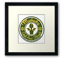 Mushnik's Skid Row Florist Framed Print