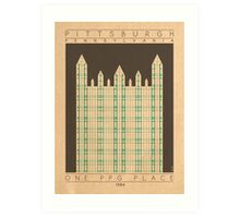 One PPG Place - 1984 (Green) Art Print