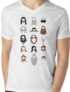 The Bearded Company Mens V-Neck T-Shirt
