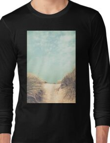 The way to the beach Long Sleeve T-Shirt