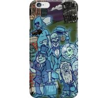 Grim Grinning Ghosts iPhone Case/Skin